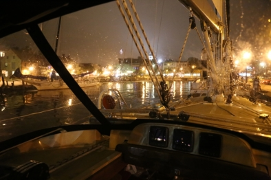 awaken rainy evening