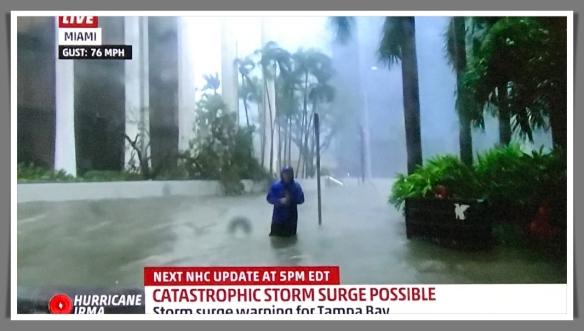 Irma surge